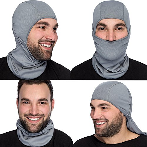 Magic Zone Balaclava Skimaske, Winter Vlies-windundurchlässige Gesichtsmaske für Männer und Frauen (Maske Sturmhaube Ski)