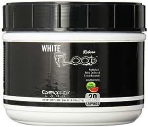 Controlled Labs White Flood Reborn Preworkout Supplement, Watermelon, 214 Gram