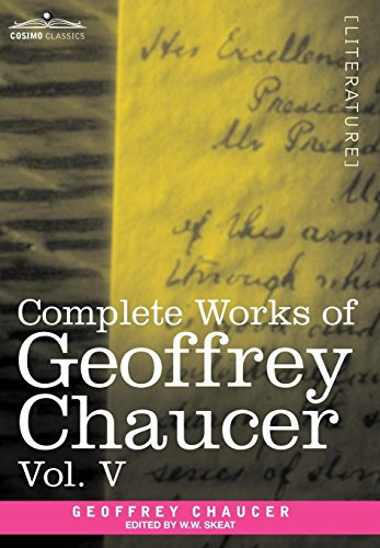 Complete Works of Geoffrey Chaucer, Vol.V Cover Image