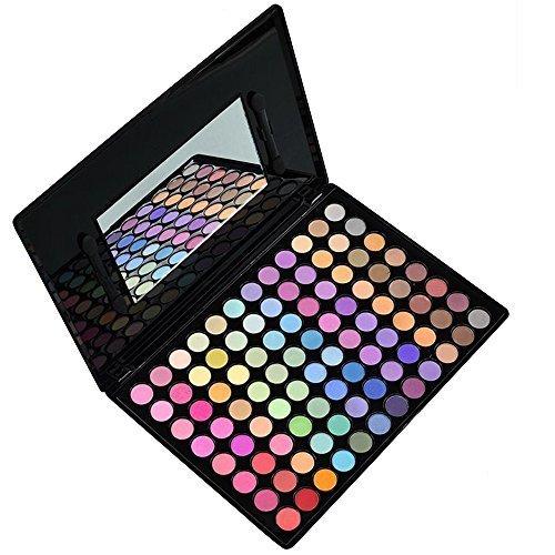 Contever® Palette Ombretti 96 Colori Cosmetici Trucco Make Up Palette con Specchio