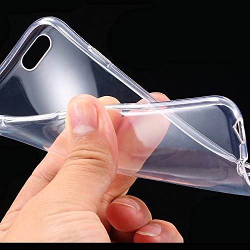 TheGiftKart Ultra Thin Soft Series Silicone Transparent Clear Case Cover for HTC Desire 620 Dual 620G Dual