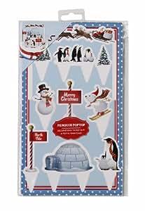 Jolly holly decorazioni natalizie per dolci colore - Decorazioni natalizie per dolci ...
