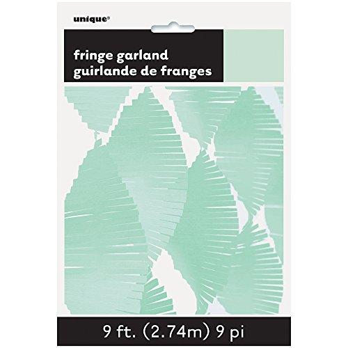 Unique Party- Guirnalda de flecos de papel de seda