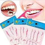 12shage 250Pcs Dienstprogramm Zahnmedizinisch Zahnseide Flosser Zähne Zahnstocher Stock Oral Pflege Zahn Reinigen
