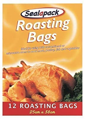 Roasting Bags 12pk - 25cm x 38cm - inexpensive UK light store.
