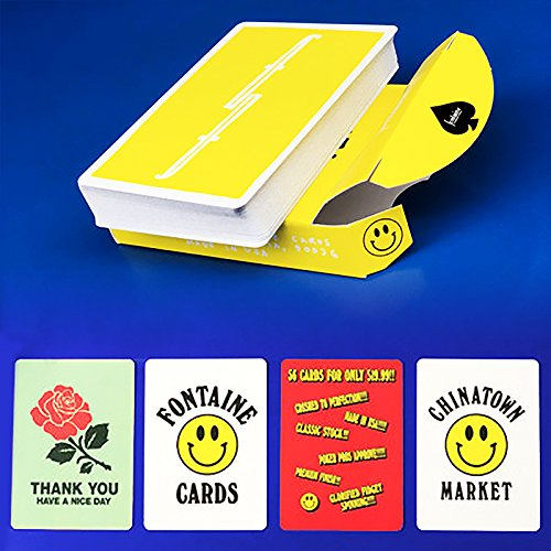 SOLOMAGIA Fontaine - Chinatown Market - Deck of Cards - Zaubertricks und Props