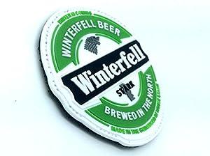 Patch Velcro PVC Winterfell la Bière Stark Game Of Thrones Pour Paintball