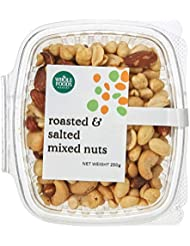 Whole Foods Market Roasted and Salted Mixed Nuts, 250 g
