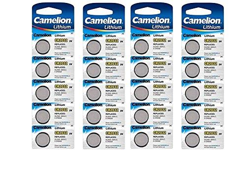 Camelion 3 V au Lithium Batterie de pièce de Monnaie