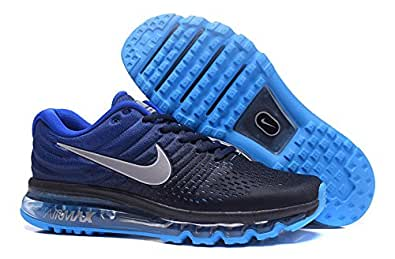 ... Air Max 2017 Mens Imported Blue Running Sports Shoes 678ca47c52cd