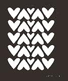 Dtuta DIY Wand Einfach Und Kreativ Multi-Size Niedlich MäDchen Herz Warm Entfernen Wandaufkleber