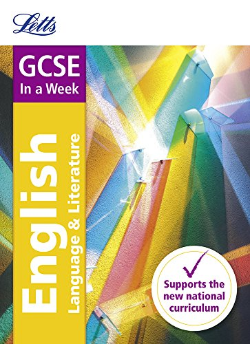 GCSE 9-1 English In a Week (Letts GCSE 9-1 Revision Success) por Letts GCSE