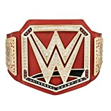 WWE RED UNIVERSAL CHAMPIONSHIP TOY TITLE BELT