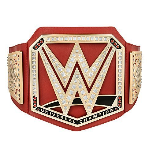 WWE ROT UNIVERSAL MEISTERSCHAFT SPIELZEUG TITEL GÜRTEL