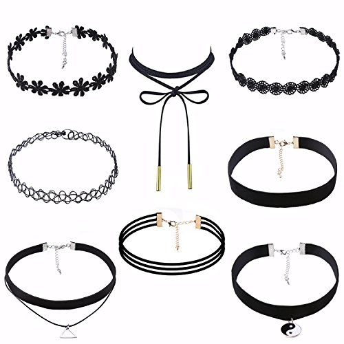 value-makers-8-pezzi-di-pizzo-nero-del-choker-set-elastic-nappa-collane-del-pendente-per-le-donne-ra
