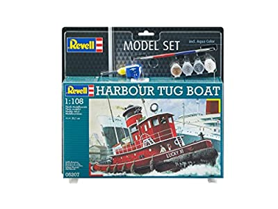 Revell Model Set - 65207 - Maquette - Harbor Tug Boat - Bateau