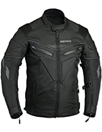 Spine paded Motorcycle Jacket Waterproof Breathable with Armours