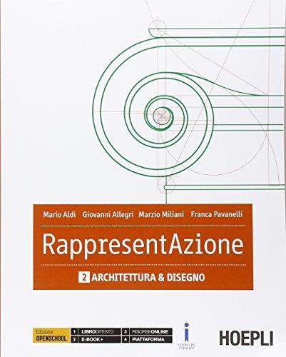 Rappresentazione. Con e-book. Con espansione online. Per gli Ist. tecnici per geometri: 2