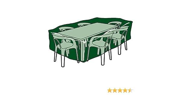 Biotop B2223 Housse de Protection rectangulaire en polyéthylène pour Table et chaises de Jardin