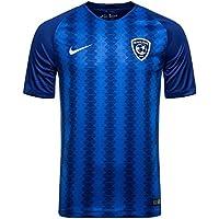 57dcbf6747 Nike 2018-2019 Al Hilal Home Football Soccer T-Shirt Camiseta