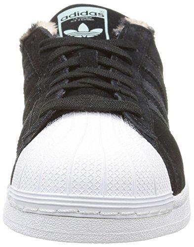 Adidas Superstar W Scarpe sportive, Donna Core Black/Core Black/Ftwr White