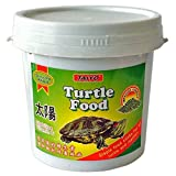 AIYO TURTLE FOOD is a complete and balanced nutritional staple food for all turtles, other reptiles and aquatic amphibians as well. It contains all high quality protein, Vitamins and Minerals to promote growth and keep turtles in healthy condition. T...