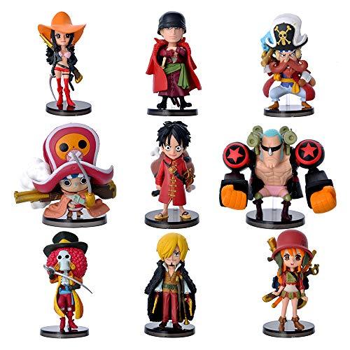 Dondonmin One Piece Muñeca de Juguete Colección de Personajes de Dibujos Animados...