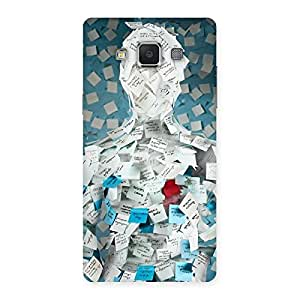 Impressive Office Paper Back Case Cover for Samsung Galaxy A5