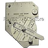 2ans de garantie en acier inoxydable pouce et métrique pont Cam Jauge d'inspection Jauge soudure Fil de soudure sur mesure [Abbott]