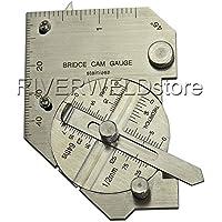 2años de garantía (de acero inoxidable y Métricas Bridge Cam soldadura de calibre inspección Gage costura hilo soldar Medida [Abbott]