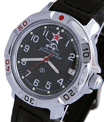 Vostok Komandirskie orologio militare russo comandante del serbatoio 2414/811306