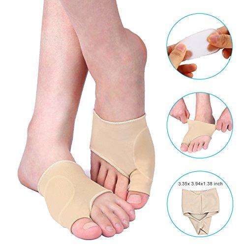 Doact Hallux Valgus Korrektur Verband (1 Paar), Hallux Valgus Socken für Schneider Bunion, Hallux Valgus, große Toe Joint, Hammer Zehe Schmerzlinderung für Männer und Frauen -