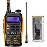 Baofeng Pofung GT-3TP Mark-III Tri-Power Two-Way Radio Transceiver, Dual Band 136-174/400-520 MHz Power Two-Way Radio