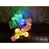 Led String Round Jalli Colourful 3 Meter