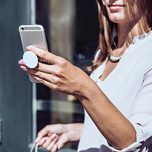 PopSockets: Ausziehbarer Sockel und Griff für Smartphones und Tablets - Blush - 4