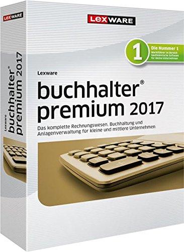Lexware buchhalter 2017 premium-Version Minibox (Jahreslizenz) / Einfache Buchhaltungs-Software für Freiberufler, Handwerker, kleine & mittlere Unternehmen / Kompatibel mit Windows 7 oder aktueller