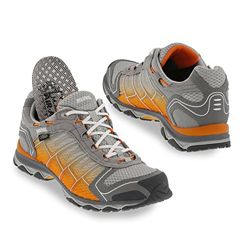 Meindl Schuhe X-SO 30 Lady GTX Surround - schwarz/türkis silber/orange