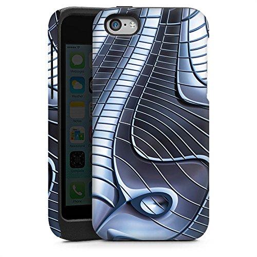Apple iPhone 5s Housse Étui Protection Coque Métal Fer Structure Cas Tough brillant