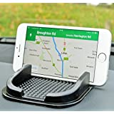 LUPO Voiture Antidérapant Matrice de Tableau de Bord Support pour Téléphone Portable - Universal pour Téléphone Portable Jusqu'à iPhone 6 Taille
