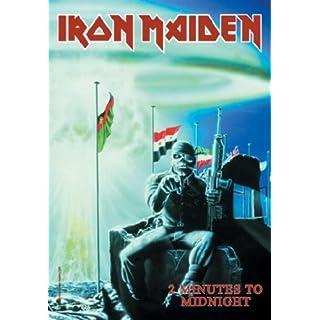 armardi Iron Maiden Poster Fahne 2 Minutes to Midnight