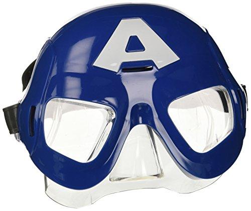 Festa toys emk902cap - maschera avengers capitan america