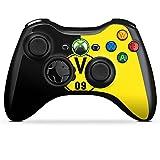 Microsoft Xbox 360 Controller Folie Skin Sticker aus Vinyl-Folie Aufkleber Borussia Dortmund BVB Logo