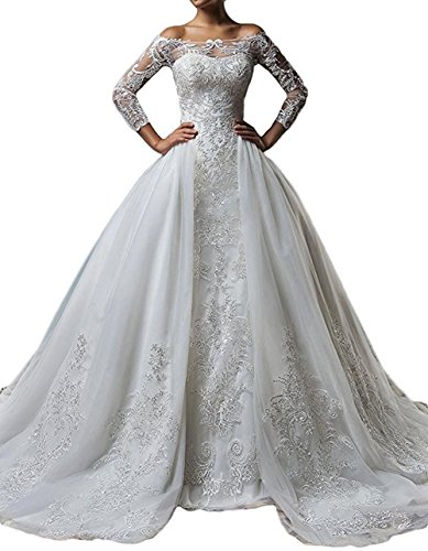brlmall-womens-trumpet-brush-train-luxury-embroidery-wedding-dress-detachable-train