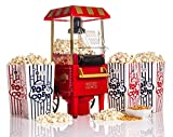 Best Popcorn Makers - WICKED GIZMOS ® 1200w Carnival Popcorn Maker Easy Review
