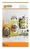Martha Stewart Beverage Labels, Monster, 6-Pack