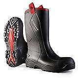 Dunlop C76C00390 C762043.CH Purofort mit Rugged S5, 39, Schwarz