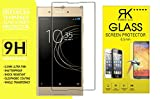 RKMOBILES Sony Xperia XA1 Plus Dual Nano Technology Premium Fexible Glass, Ultra Clear, Anti-Scratch, Bubble Free, Anti-Fingerprints & Oil Stains Coating + Free Cleaning Kit Inside