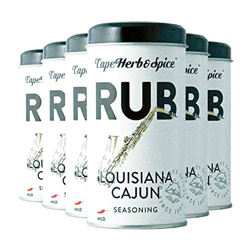 Cape Herb & Spice Rub Louisiana Cajun, 6er Pack -