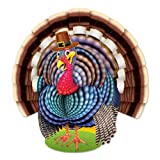 Beistle 99732 Jointed Turkey, 171/2-Inch