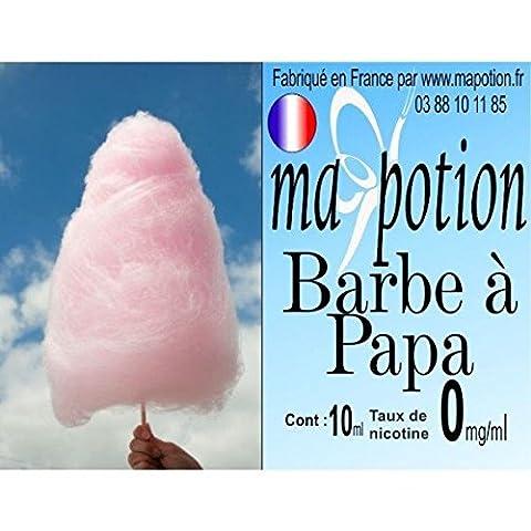 MA POTION - E-Liquide Saveur Barbe a papa, Eliquide Français Ma Potion, recharge liquide pour cigarette électronique. Sans nicotine ni tabac